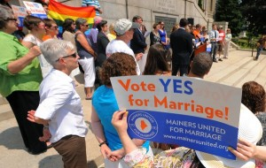 "350 Maine Clergy Say ""Vote Yes for Marriage"""